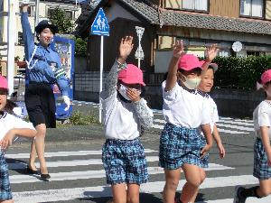 令和2年10月29日(木) 交通安全巡回教室(年長)の写真3